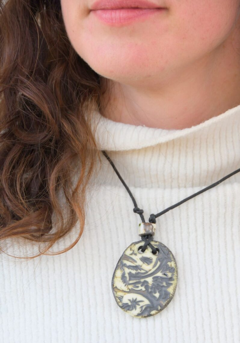 William Morris pendant by Amulet of Orkney handmade jewellery