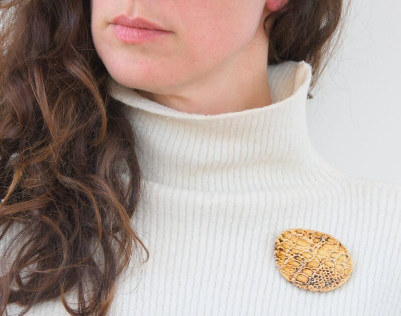 Shetland Lace jewellery by Andrew Appleby at Amulet of Orkney