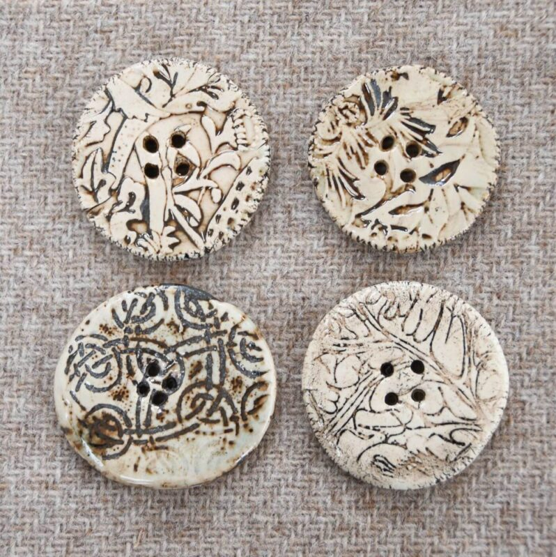 Amulet of Orkney handmade buttons